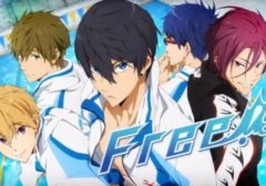 Free! ab August bei Animax