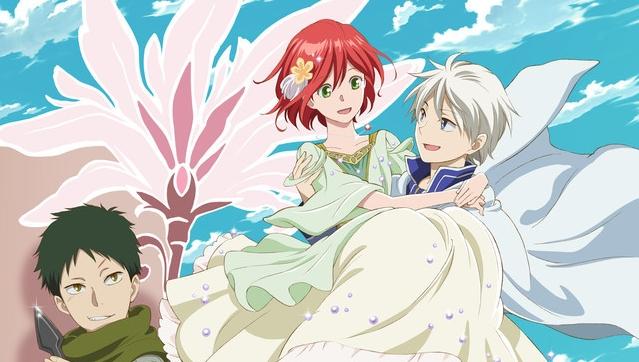 Akagami No Shirayuki Hime Statdatum Der Zweiten Staffel