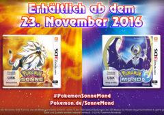 Pokémon Sonne & Mond: Trailer zeigt neue Details & unterschiede zwischen Sonne & Mond