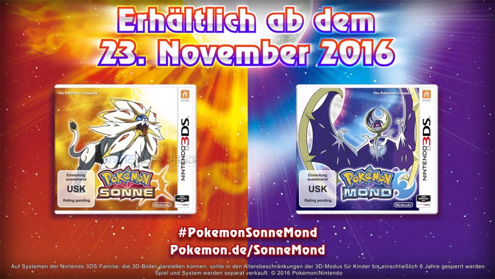 Pokemon Sonne und Mond Cover