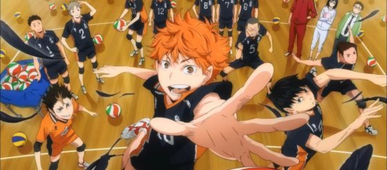 Haikyuu!!: peppermint anime lizenziert Volleyball Anime