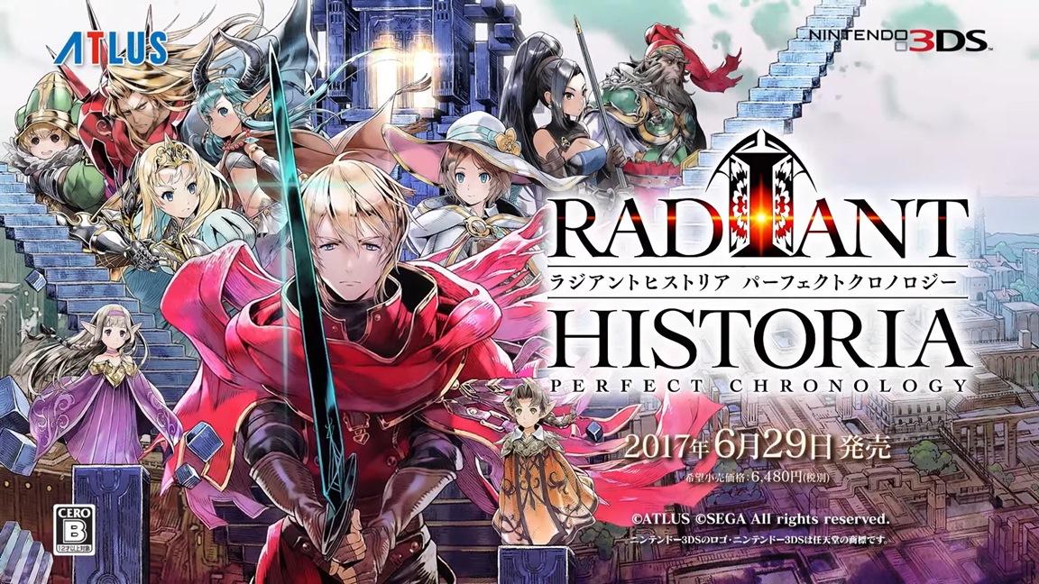 Radiant Historia: Perfect Chronology: Neuer Trailer veröffentlicht