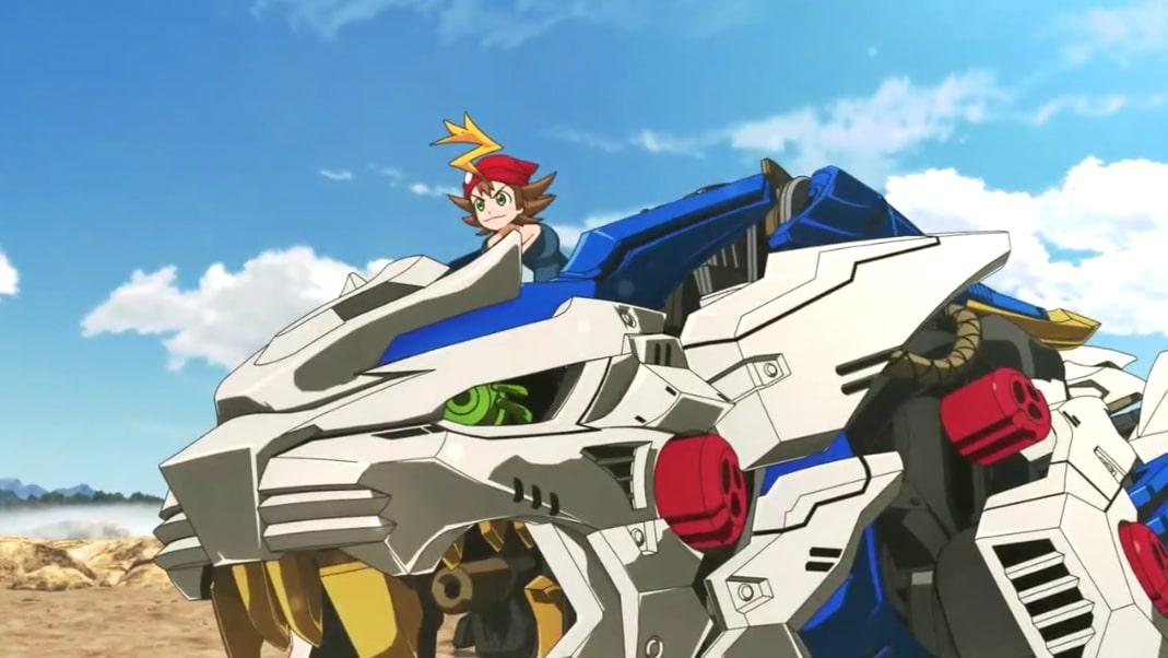 zoids wild - spielzeugmodelle inspirieren neuen anime - animenachrichten