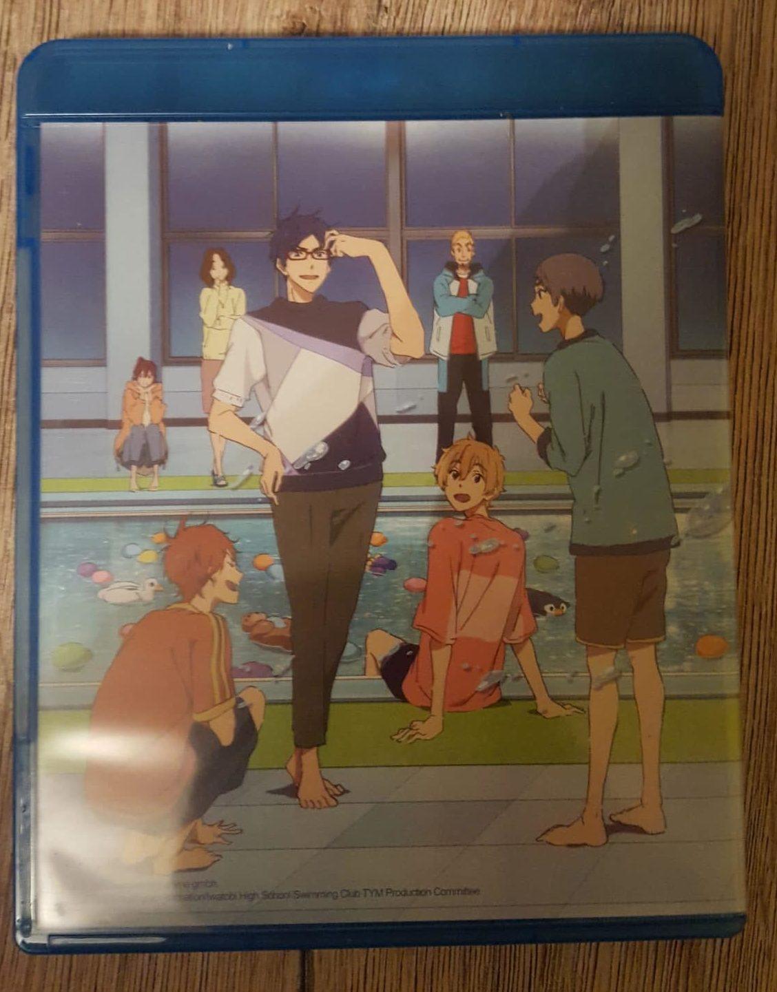 Review Free Take Your Marks Blu Ray Animenachrichten