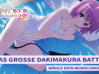 To Love Ru Darkness 2nd Dakimakura Battle