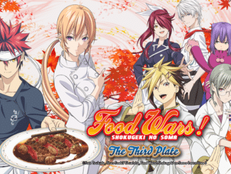 Food Wars The Third Plate Titelbild