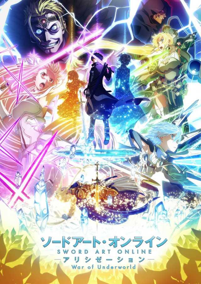 Sword Art Online Alicization War Of Underworld Neues