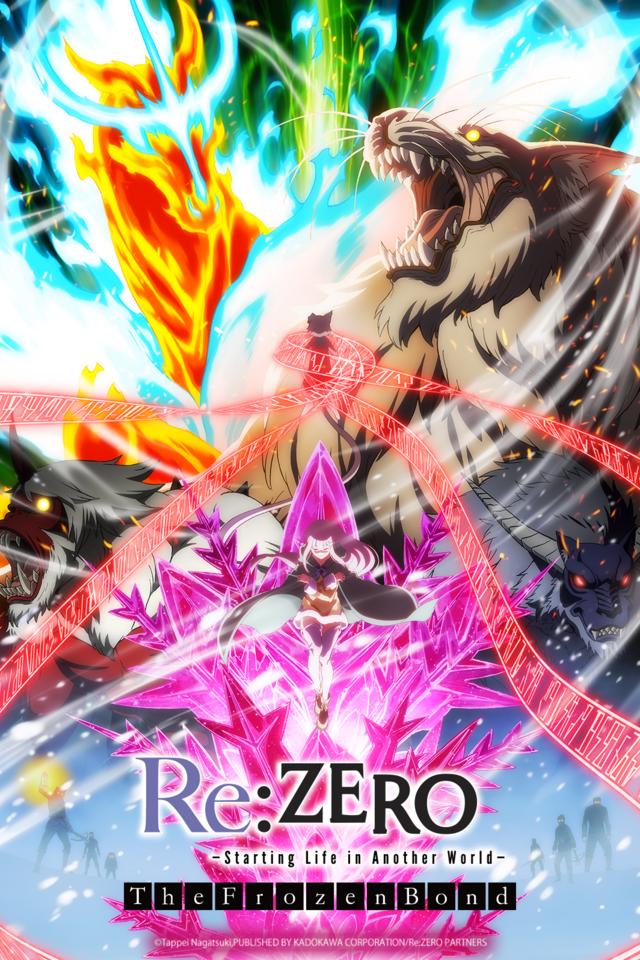 Re:Zero - The Frozen Bond: Zweite OVA demnächst bei Crunchyroll ...